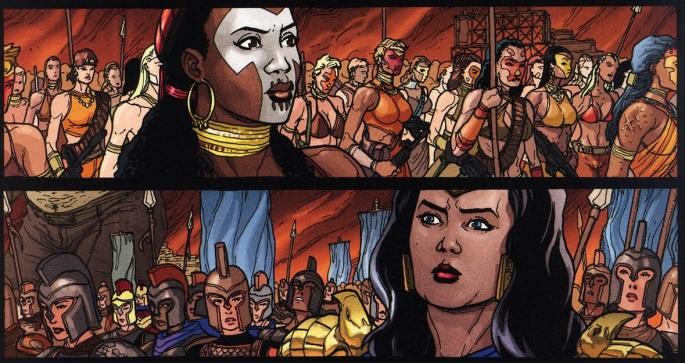 Themyscira Amazons